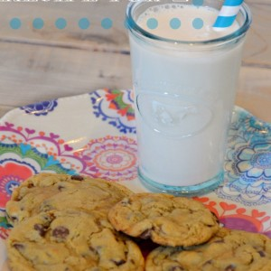 chocolate chip cookie recipe for two