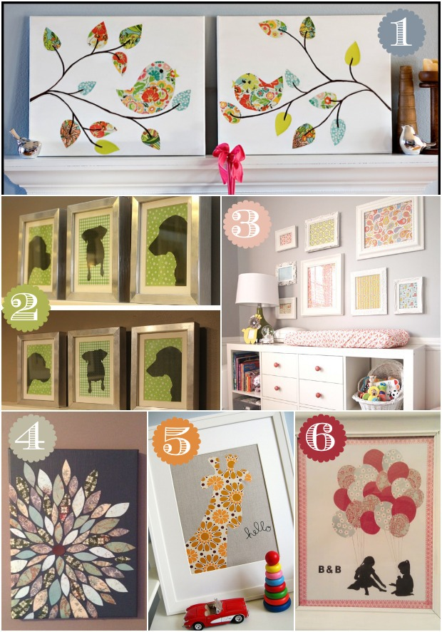 42 Ways To Decorate With Scrapbook Paper Home Stories A To Z