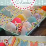 Bunny Easter Egg Countdown Calendar