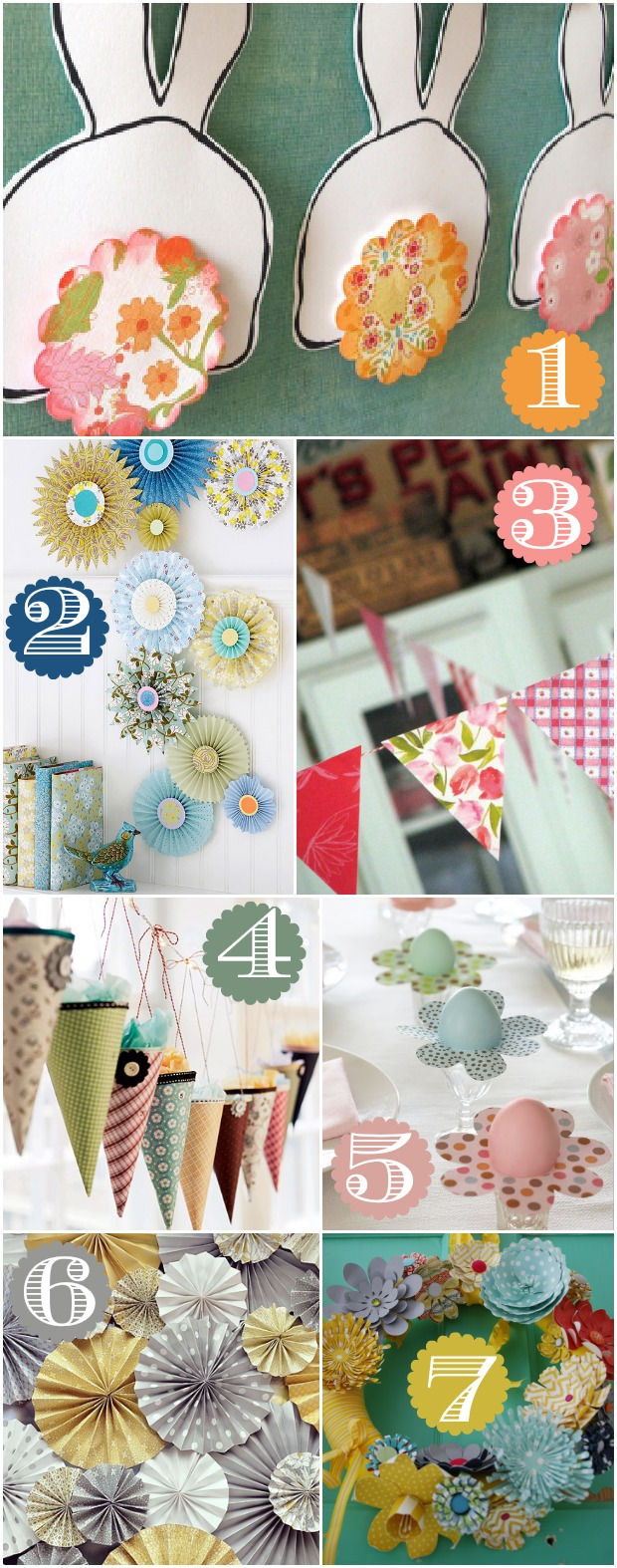 42 ways to decorate with scrapbook paper home stories a to z for Decorate my photo