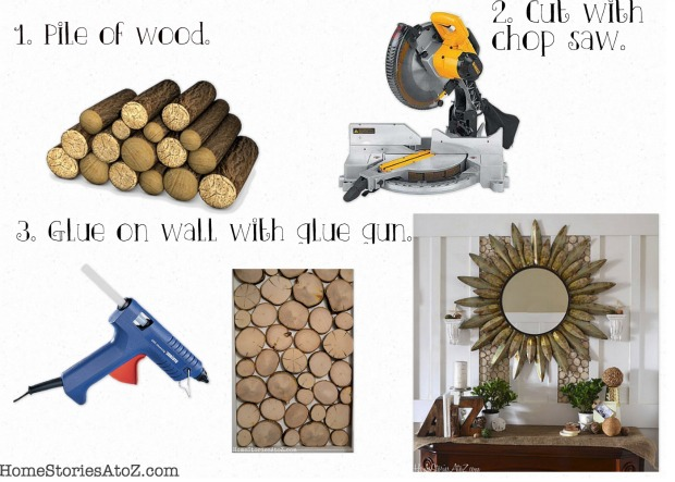 7 Inspiring Kid Room Color Options For Your Little Ones: How To Create A Wood Round Wall {tutorial}