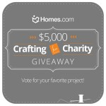 Homes.com Crafting for Charity Giveaway