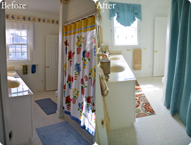 Better Homes & Gardens Walmart Bathroom Makeover