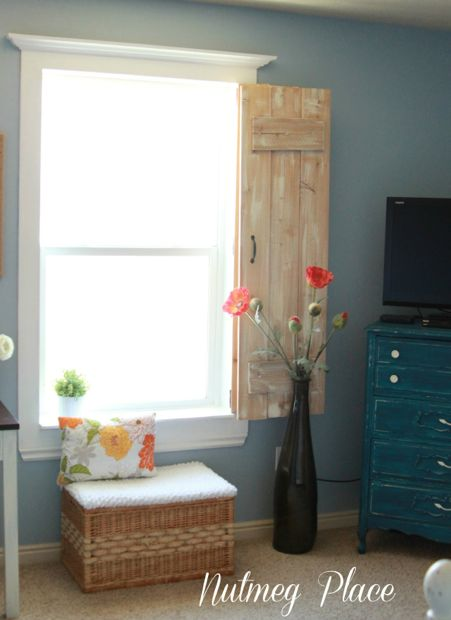 diy window shutters