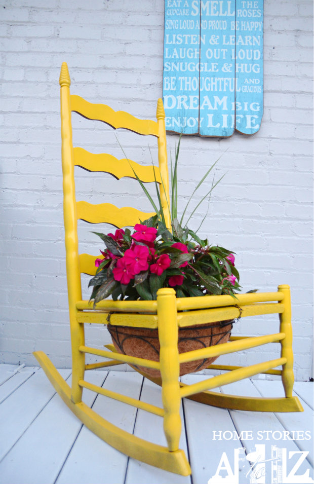 How To Make A Chair Planter Lowescreator Home Stories A