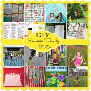 diy summer family activities