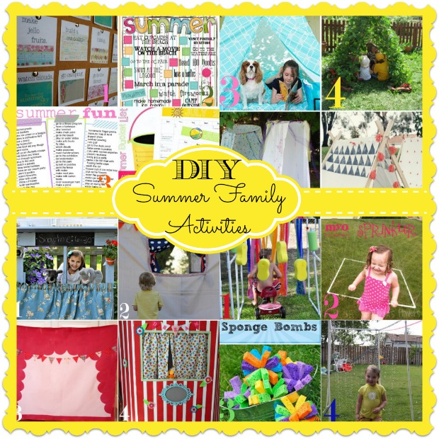 Five do it yourself outdoor project ideas home stories a to z diy summer family activities solutioingenieria Image collections