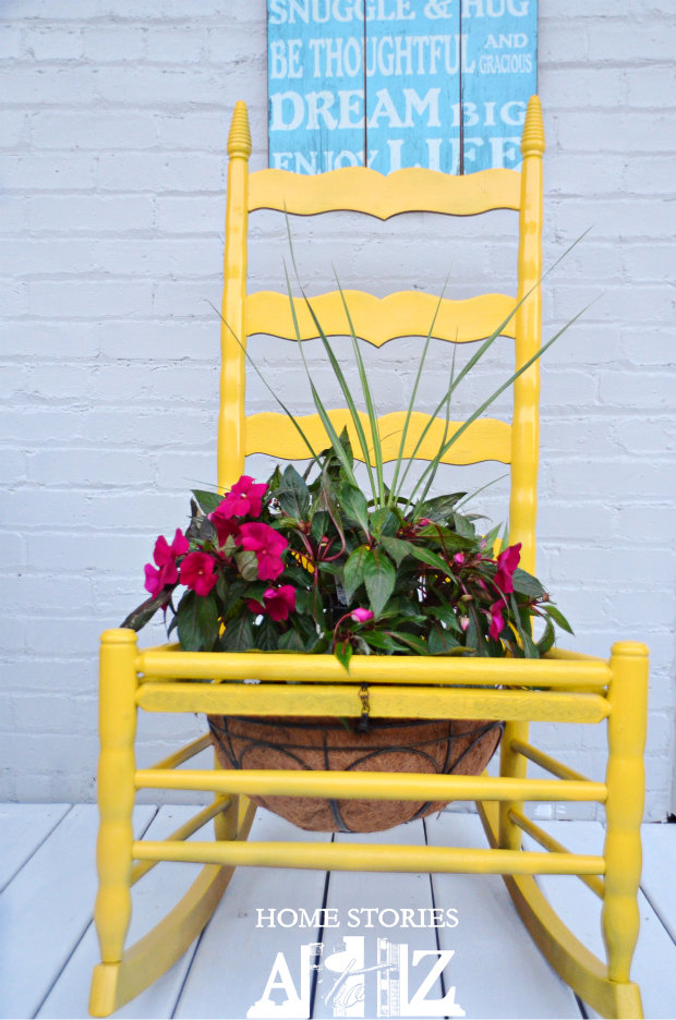 how to chair planter