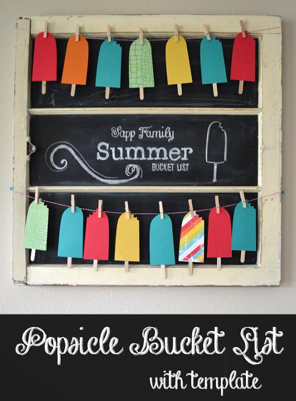 popsicle summer list
