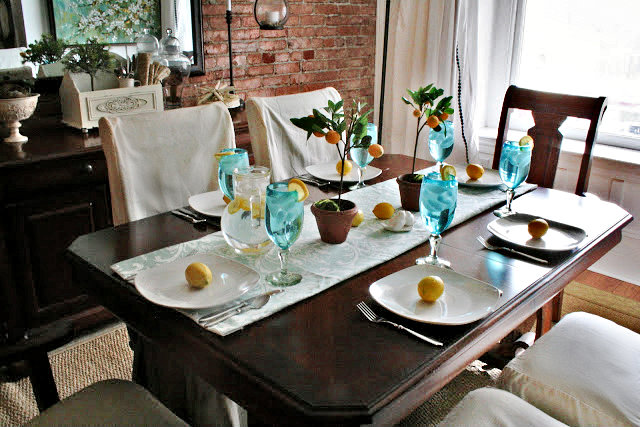 lemon dining room