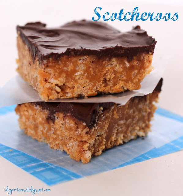 scotcheroos recipe