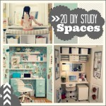 20 Do it Yourself Study Spaces