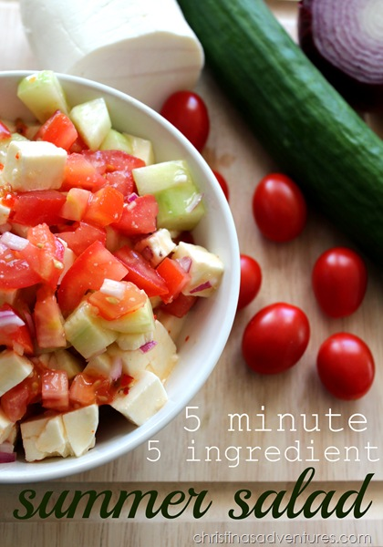 5-minute-5-ingredient-summer-salad