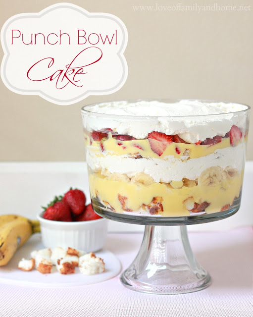 Punch Bowl Cake