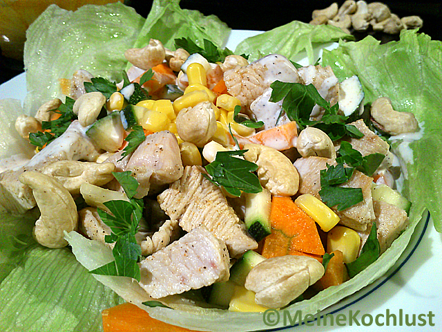 turkey beast corn salad recipe