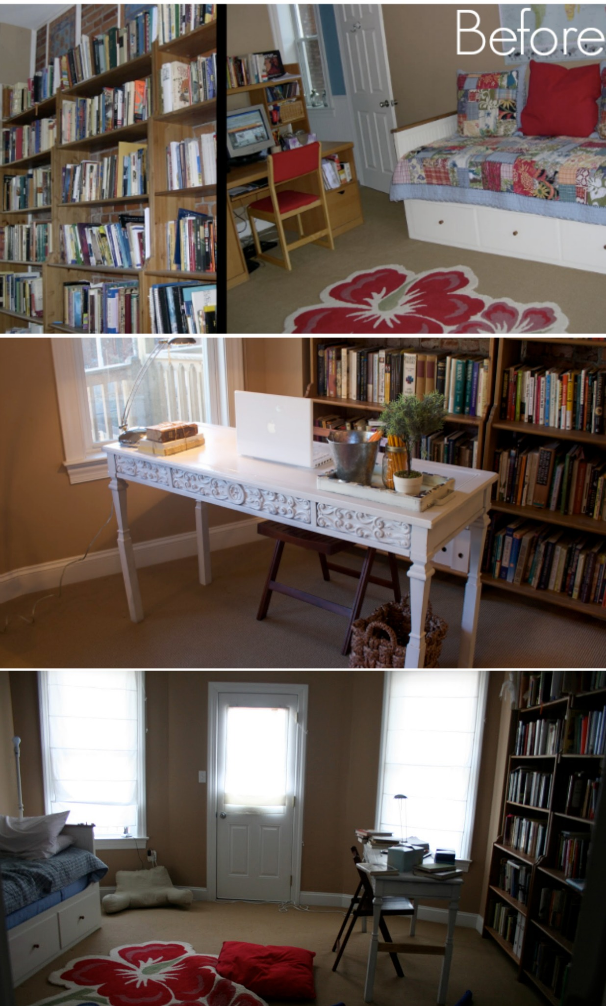 Pictures Of Bookshelves ikea hack: billy built-in bookshelves (part 1) - home stories a to z