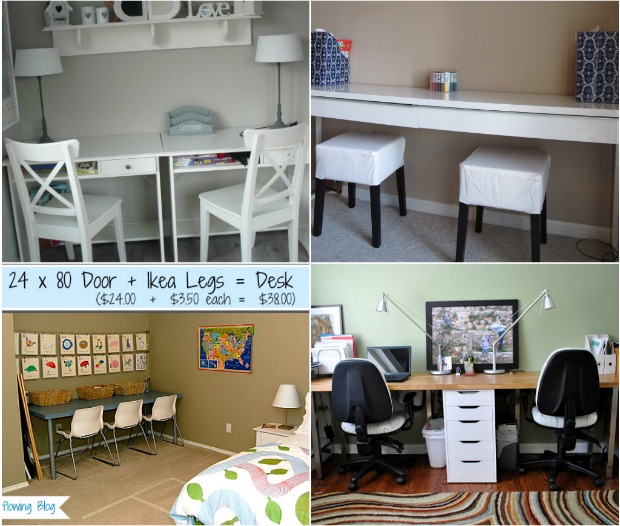 Ikea Kids Study Room: 20 Do It Yourself Study Spaces