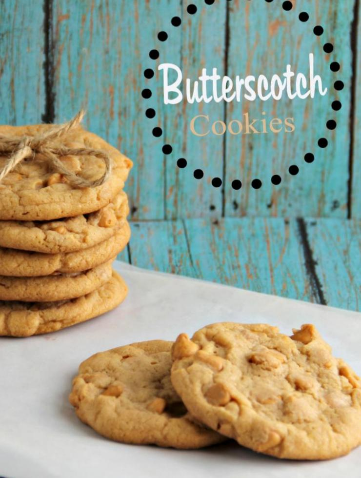 butterscotch cookie recipe