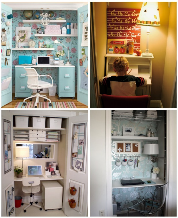 20 Do it Yourself Study Spaces - Home Stories A to Z