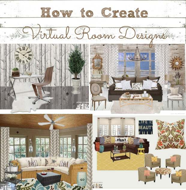 how to create virtual room designs