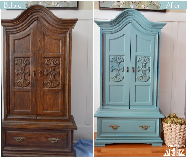 Painting furniture home stories a to z for Painting designs on wood furniture