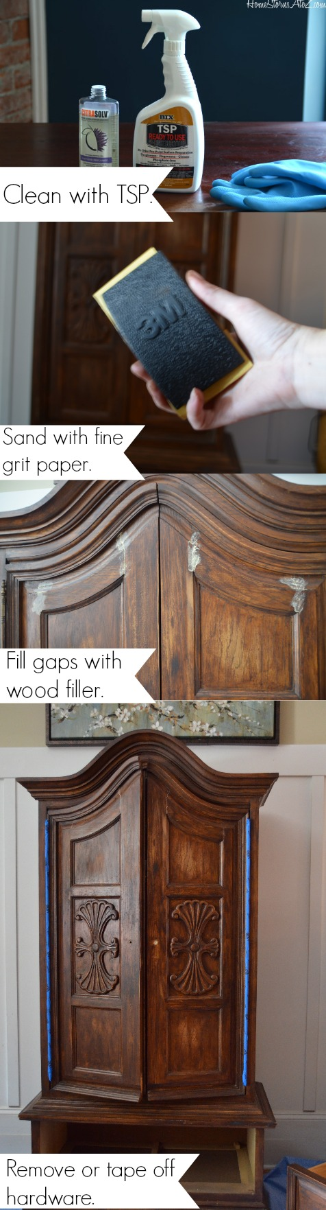 How to paint a vintage buffet home stories a to z - How To Prep Furniture
