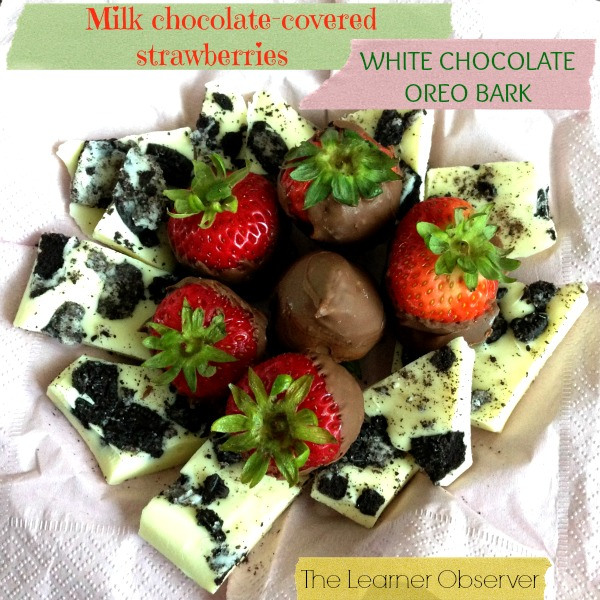 white chocolate oreo bark recipe