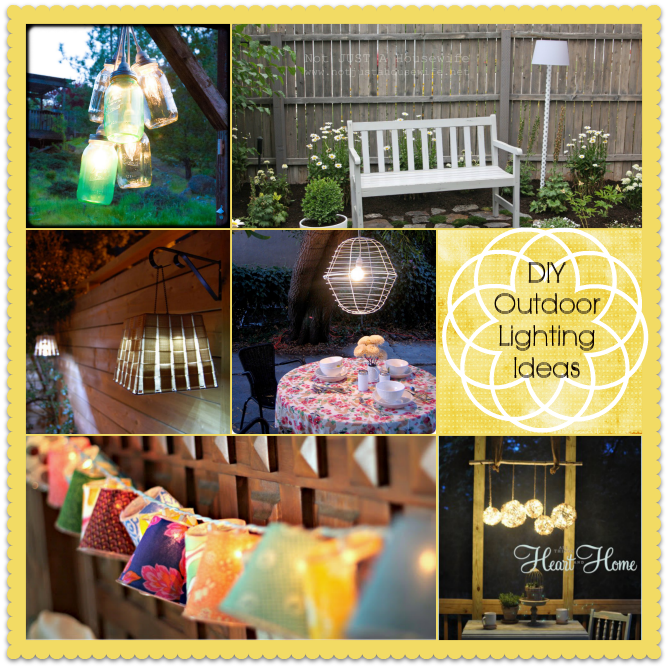 15 DIY Outdoor Lighting Ideas Home Stories A To Z