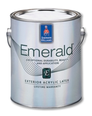 emerald exterior acrylic latex