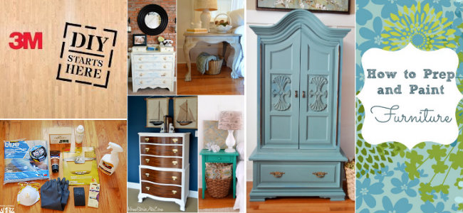 prep and paint furniture