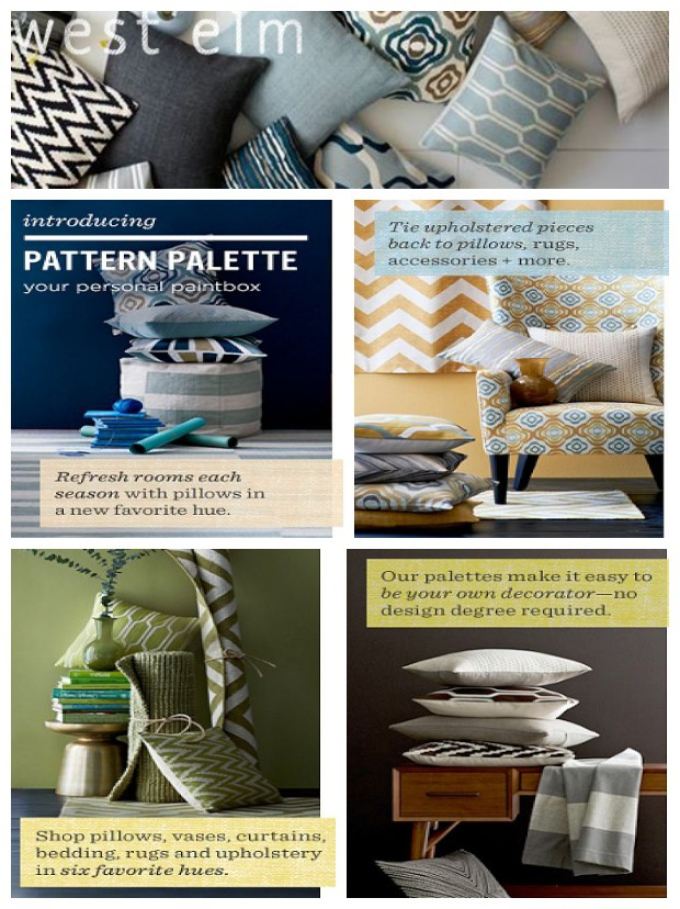west elm pattern palette