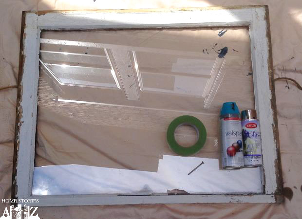 window diy mirror