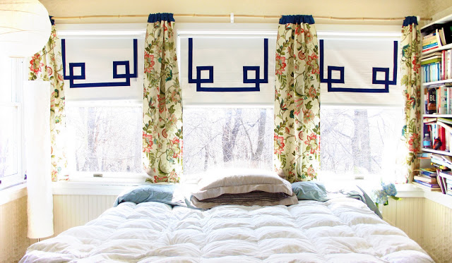 Dress Up a Cheap Pull Down Shade