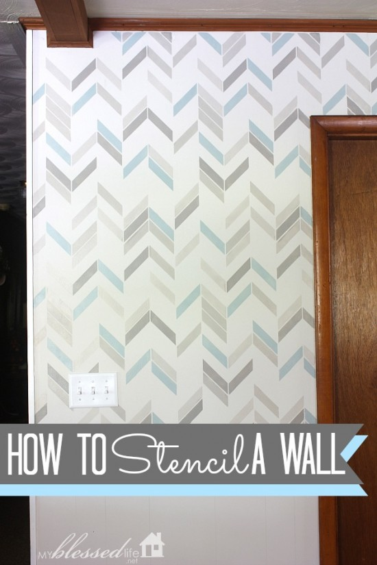 How-To-Stencil-A-Wall