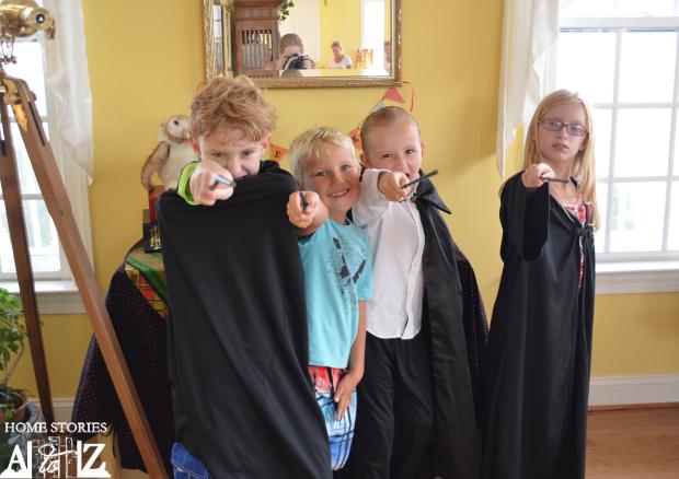 harry potter wizards