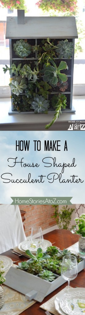 how to make house planter