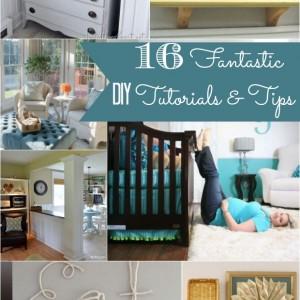 16 DIY tutorials and tips