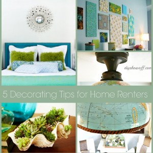 5 decorating tips for renters