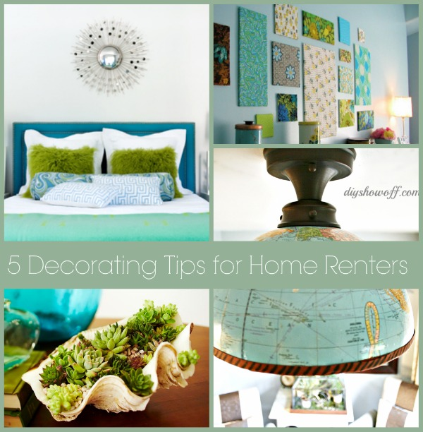 Renters Com: 5 Easy Non-permanent Decorating Tips For Renters