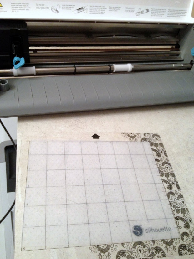 create stamps on silhouette