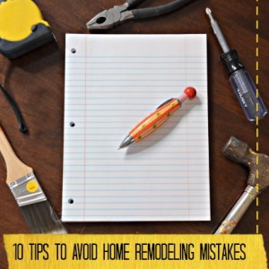 how to avoid home remodeling mistakes