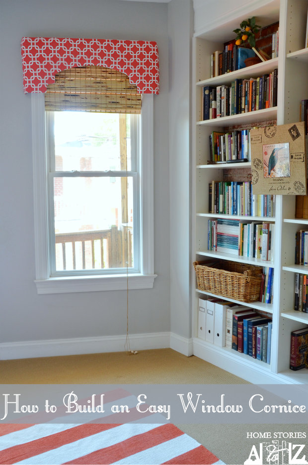 how to build window cornice
