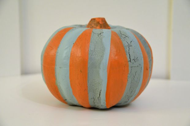 how to paint pumpkin