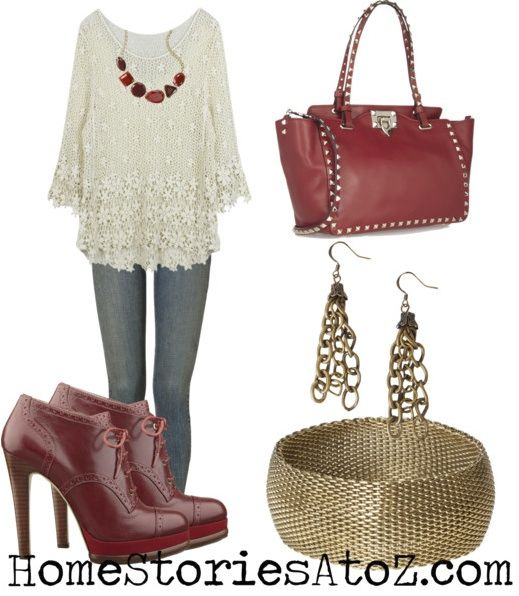Fall Winter 2013 Outfits Inspired By Pottery Barn