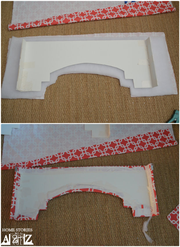 window cornice step 5 glue dring picture hangers onto each end and hang your box i held my finished box up to the window and used a pencil to mark where