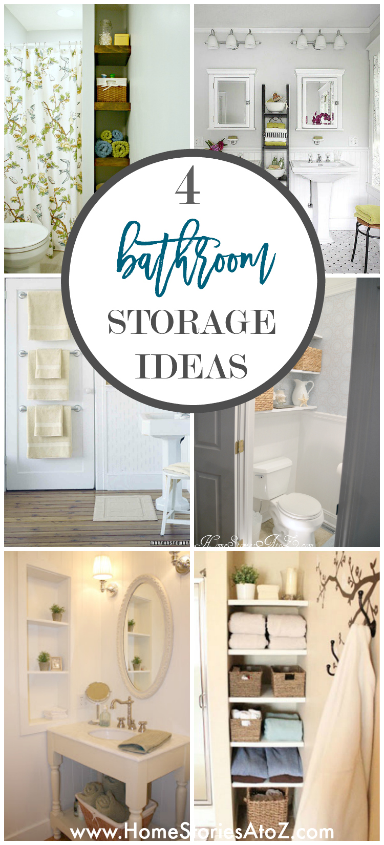 4 Tips to Creating More Bathroom Storage
