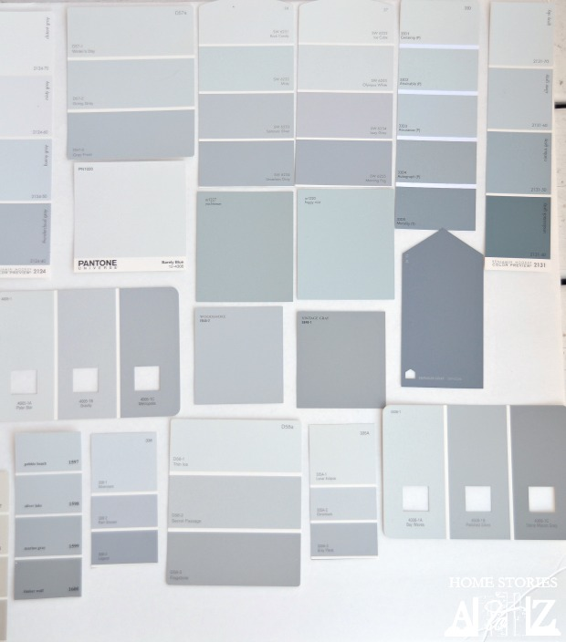 Gray paint color ideas tips and examples home stories Touch of grey benjamin moore