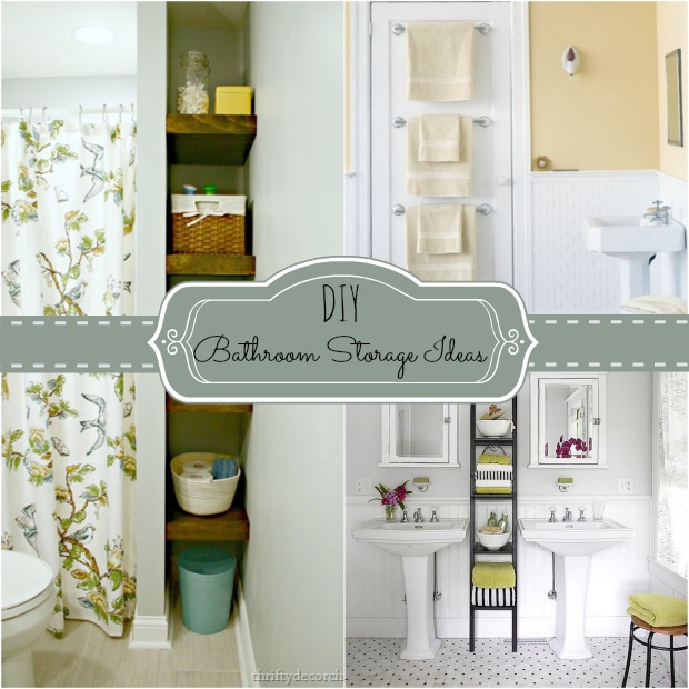 Unique  diy bathroom storage ideas