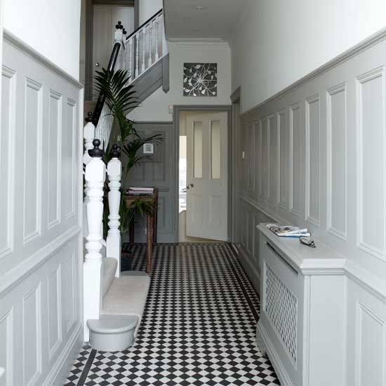 Hallway decorating ideas home stories a to z for Foyer makeover ideas