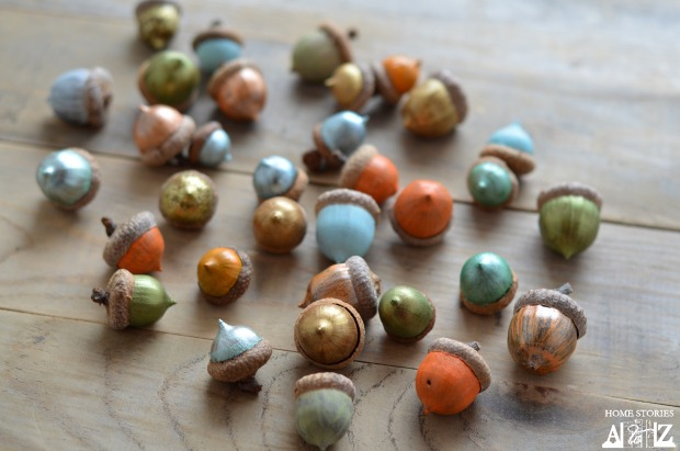 How To Paint Acorns Home Stories A To Z